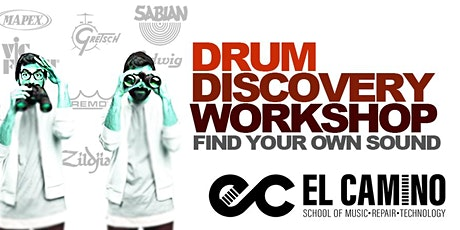 DRUM Discovery Workshop: How to Find YOUR Sound tickets