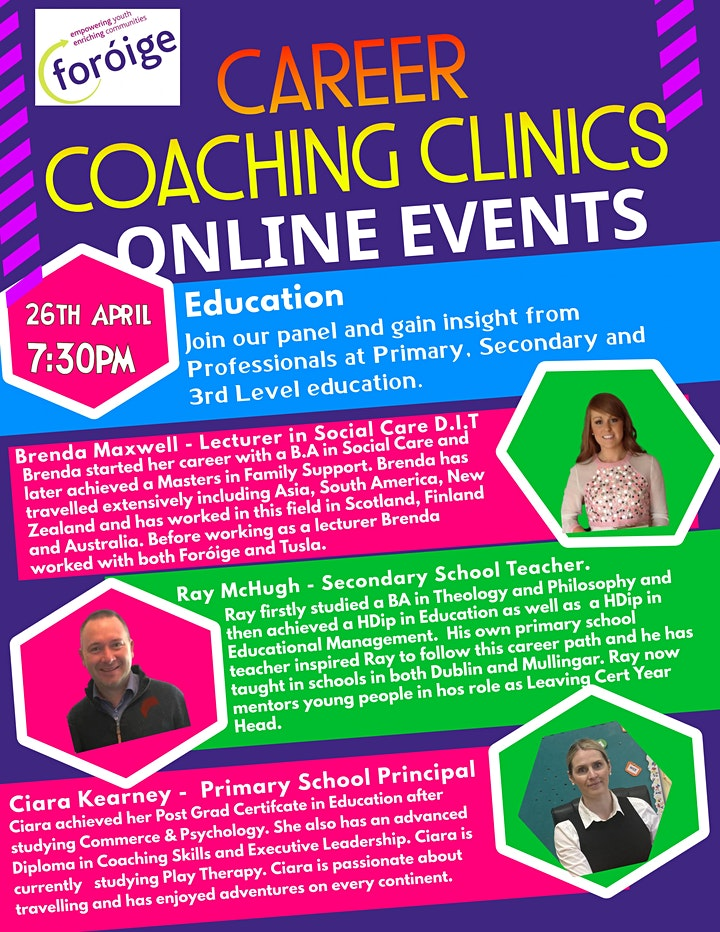 Foróige Careers Coaching Clinic - Education image