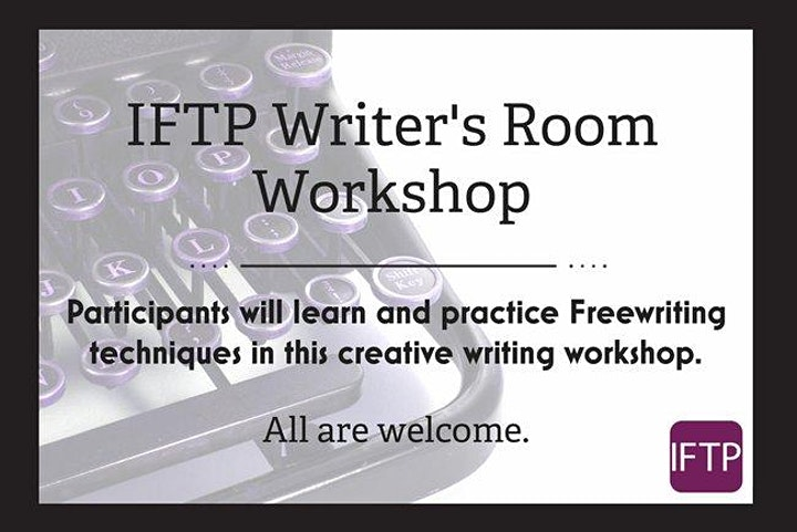 IFTP Writer's Room Workshop image