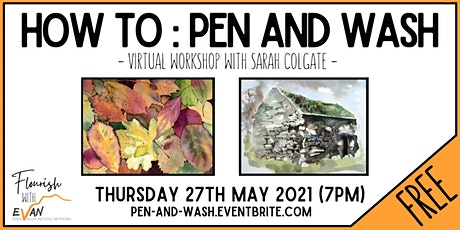 Flourish: Pen and Wash with Sarah Colgate tickets