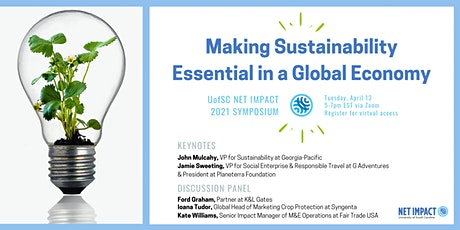 Making Sustainability Essential in a Global Economy - 2021 Symposium tickets