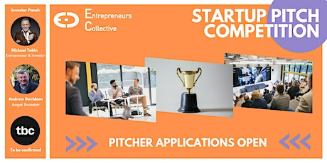 April Pitch Competition & Networking with Founders and Angel Investors tickets