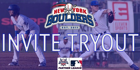 New York Boulders Invite Tryout tickets