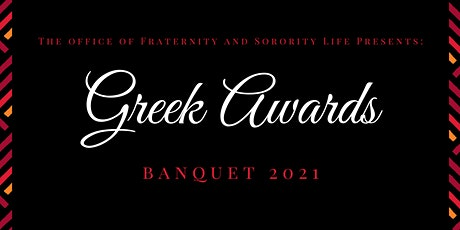 Greek Awards Banquet tickets