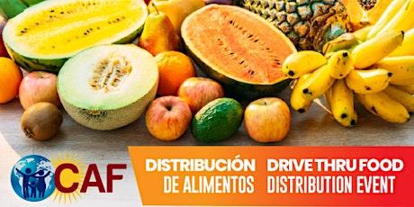 Food Distribution Event (Drive Thru) tickets