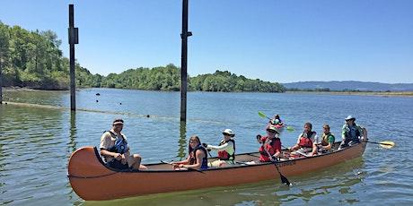 Vancouver Lake Big Canoe Paddle 4/24/21 (9:30-11:00) tickets