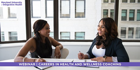 Webinar | Careers in Health  and Wellness Coaching tickets