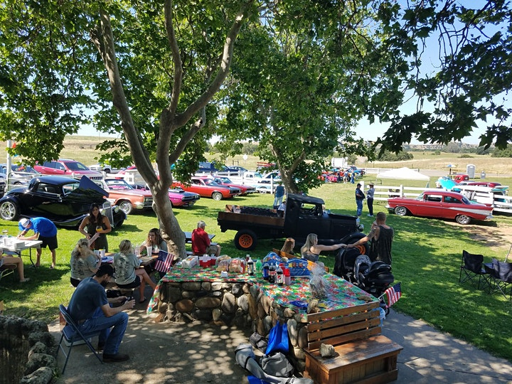 50's Roadhouse classic car show benefit and 50's festival image