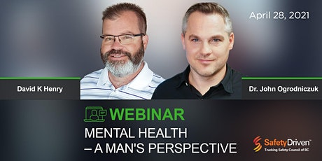 Webinar: Mental Health - A Man's Perspective tickets