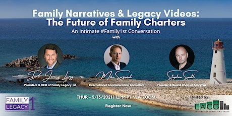 Family Narratives & Legacy Videos: The Future of Family Charters tickets