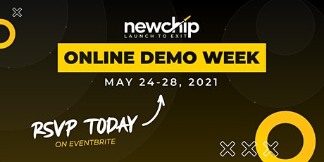 Newchip's May 2021 Online Demo Week tickets