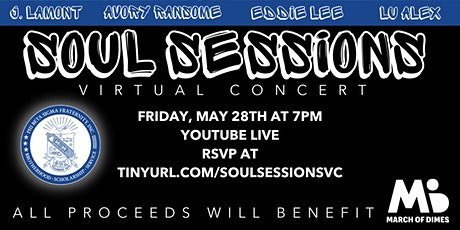 Soul Sessions: Virtual Concert tickets