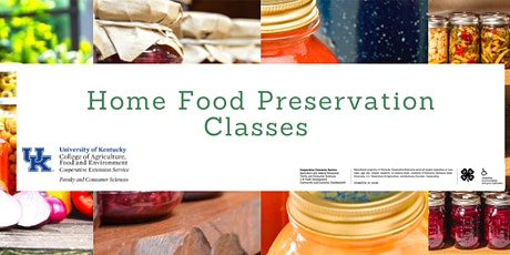 Introduction to Food Preservation tickets
