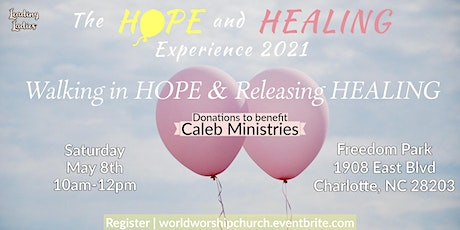 The Hope and Healing Experience 2021 tickets