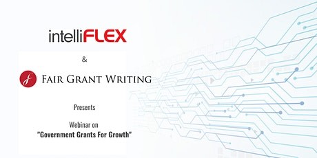 Webinar: Government Grants for Growth tickets