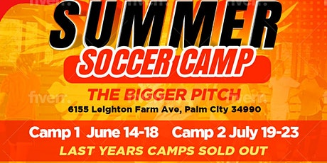 MASSIVE SOCCER SUMMER CAMP ONE - June 14-18,2021 tickets