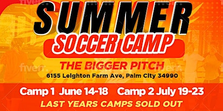 MASSIVE SOCCER SUMMER CAMP TWO - July 19-23,2021 tickets