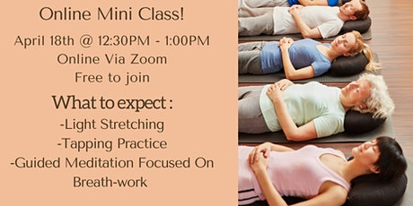 Breathing Meditation - Free 'Mini' Class (Online). tickets