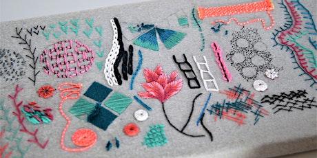 Intermediate Hand Embroidery Workshop (Online) tickets