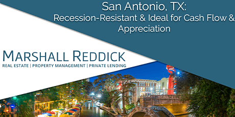 San Antonio, TX: Recession-Resistant & Ideal for Cash Flow & Appreciation! tickets