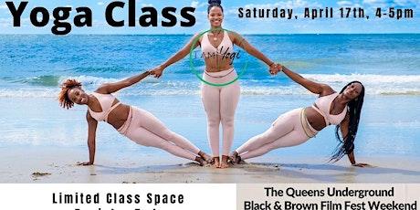 Red Carpet Yoga Class, Saturday, April 17th tickets