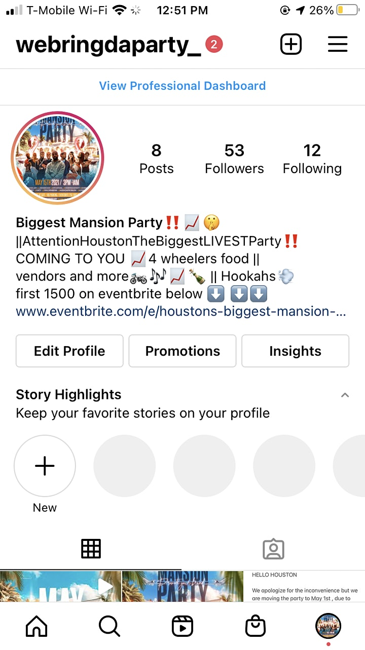 Houston's BIGGEST Mansion party ‼️ image
