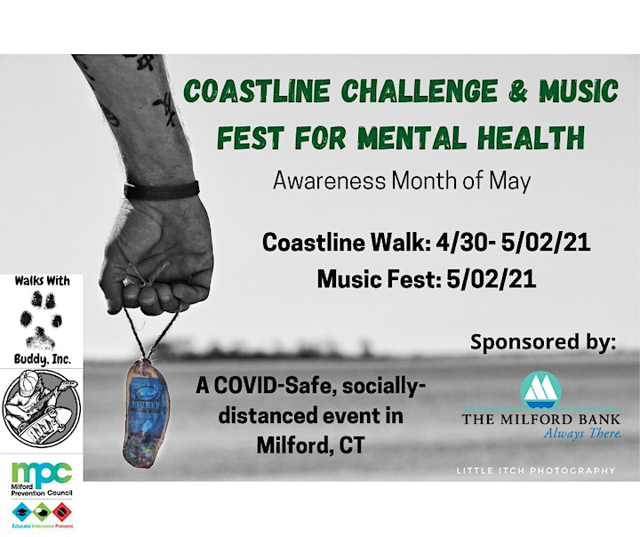 2nd Annual Milford Coastline Challenge & Music Fest for Mental Health image