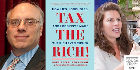 Pearl, Payne, Isikoff, & The Patriotic Millionaires | TAX THE RICH! tickets