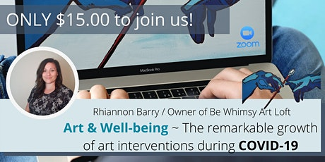 Art & Well-being -The Remarkable Growth of Art Interventions During Covid19 tickets