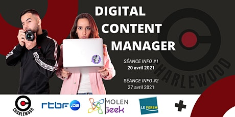 [Séance d'info] FORMATION DIGITAL CONTENT MANAGER - CharleWood billets