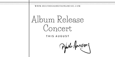 Heather  Armstrong's Album Release tickets