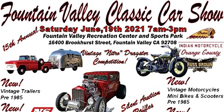 Fountain Valley Classic Car  and Truck Show tickets
