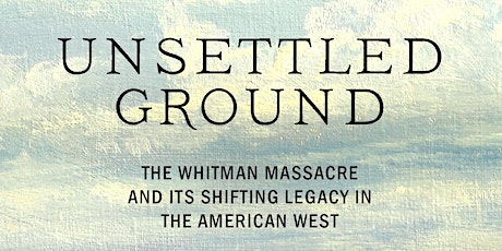 """Cassandra Tate, """"Unsettled Ground"""" Book Event with John Hughes tickets"""