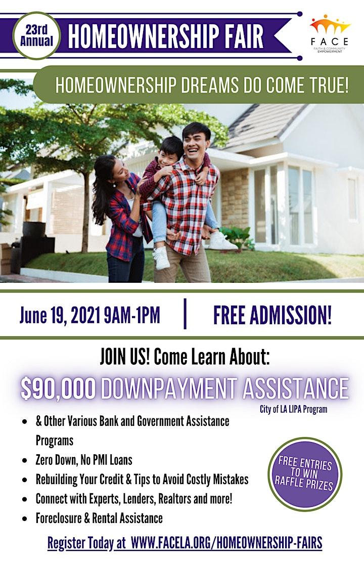 FACE's 23rd Annual Homeownership Fair image