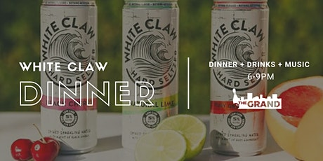 White Claw Dinner tickets