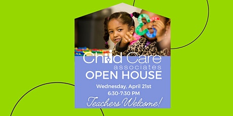 Child Care Associates Open House tickets