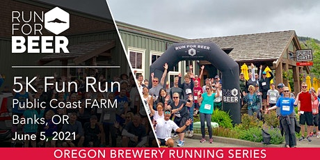 Beer Run - Public Coast Brewing Farms | 2021 OR Brewery Running Series tickets