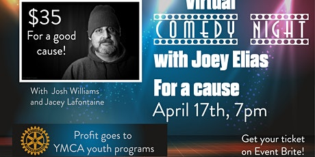 Comedy night with Joey Elias for a cause tickets