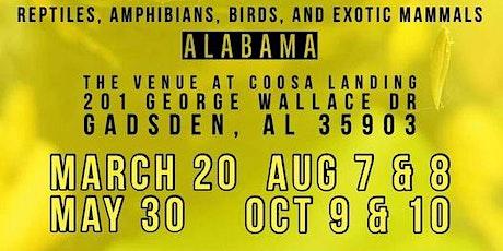 Show Me Reptile & Exotics Show (Gadsden Alabama) tickets