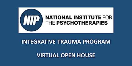 Integrative Trauma Program Virtual Open House tickets