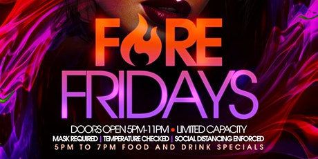 Fire Fridays @ Blend Lounge tickets