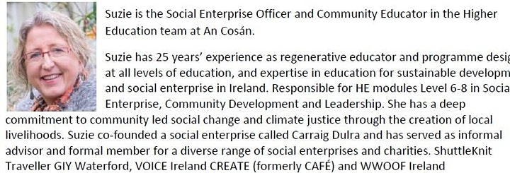 An Cosán Irish Aid project launch and National Forum Webinar image