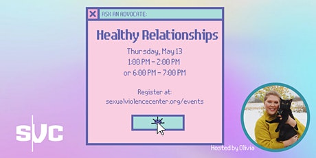 Ask An Advocate Series: Healthy Relationships tickets