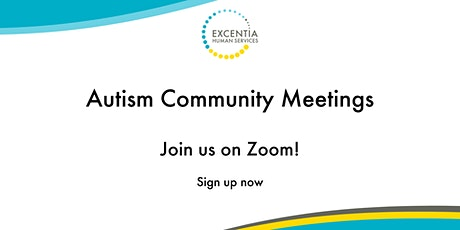 Autism Community Meetings - April tickets