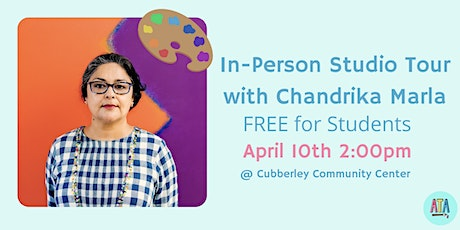 FREE In-Person Studio Tour with Chandrika Marla tickets