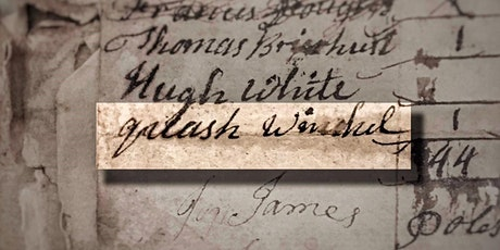 Uncovering the Life of Quash, a Black Man in Eighteenth-Century Topsham tickets