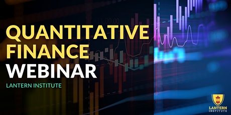 Quantitative Finance Information Webinar tickets