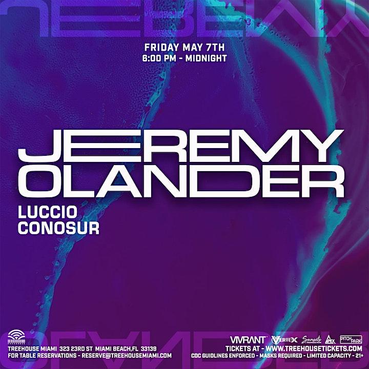 Jeremy Olander @ Treehouse Miami image