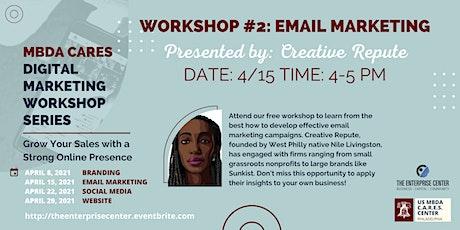 Digital Marketing Workshop #2: Email Marketing tickets