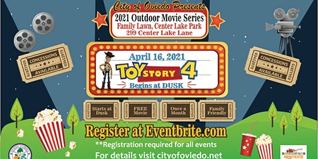 April Movie in the Park-Toy Story 4 tickets